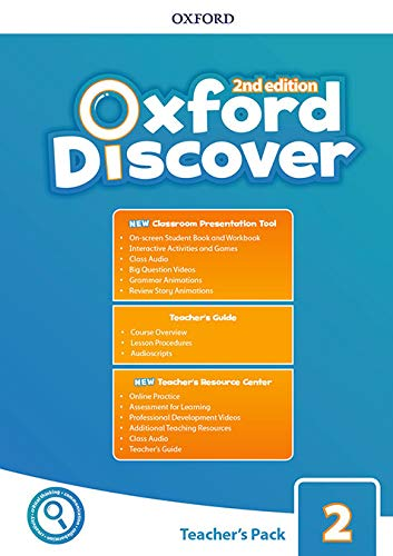 Oxford Discover 2. Teacher's Book with Classroom Practice Tool + Online Practice Test (Oxford Discover Second Edition)