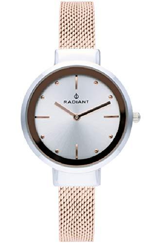Radiant iris orologio Donna Analogico al Al quarzo con cinturino in Acciaio INOX placcato RA510602