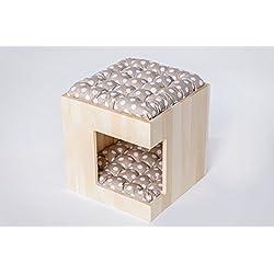 Beautiful de madera casita de perro. funcional, acogedor y seguro. Producido en la UE de ecológico madera de polaco Los Bosques.