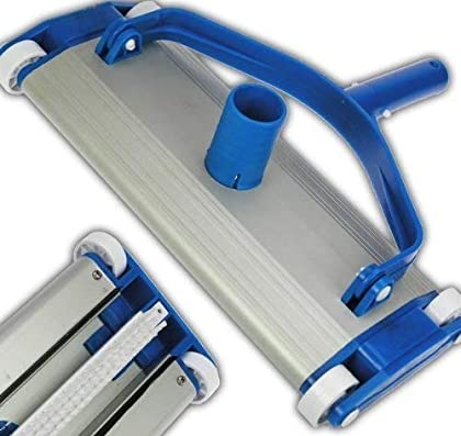 Aluminio Pool Piscina Aspiradora suelo ventosa cepillo ELECSA 9447