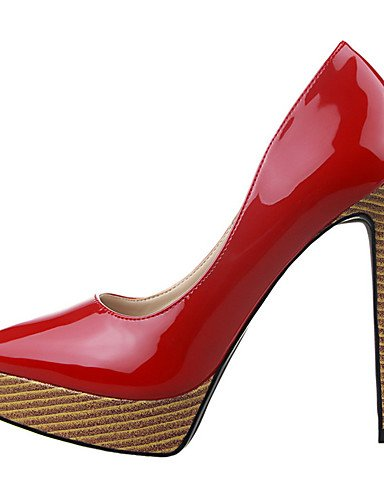 WSS 2016 Chaussures Femme-Extérieure / Bureau & Travail / Soirée & Evénement-Noir / Violet / Rouge / Blanc / Argent / Nu-Talon Compensé-Talons / white-us6.5-7 / eu37 / uk4.5-5 / cn37