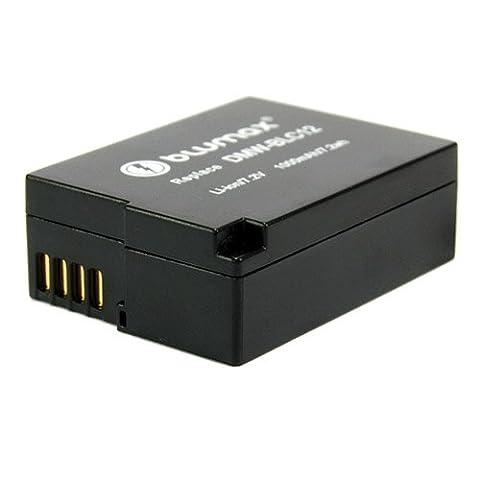 Blumax Akku für Panasonic DMW-BLC12 / Lumix DMC-GH2 / GH2 / DMC-GH2K / GH2K / DMC-GH2S / GH2S