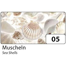 Motivpapier Briefpapier Muscheln am Strand Meer-5185, DIN A4, 25 Blatt