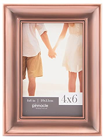 Pinnacle Frames and Accents 14FM1656 Inner Scoop with Ridge Tabletop Picture Frame, 4 x 6
