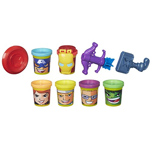Marvel Play-Doh Heroes assembler Craft avec Can-heads