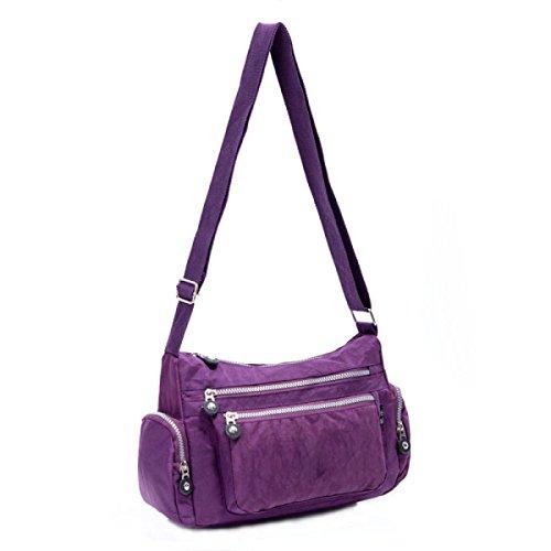 Ms. Messenger Bag Femminile BUKUANG Oxford Di Nylon Piccola Borsa Borsa Mamma Di Mezza Età Borsa Da Viaggio Di Tela,P C