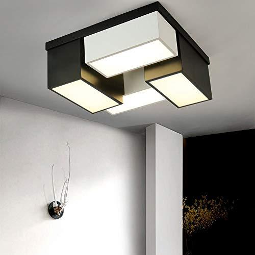 ZXL Unterputzmontage, Modern/Zeitgenössisch Retro Lantern Drum Island Globe Bowl Andere Funktion für LED-Designer im Mini-Stil MetalLiving Room-Lampe enthalten (Farbe: Warm-light-80 * 15cm) -