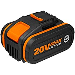 WORX WA3553 20V 4.0Ah Lithium Battery with Powershare Battery platform