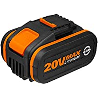 WORX WA3553 20V 4.0Ah Lithium Battery with Powershare Battery platform