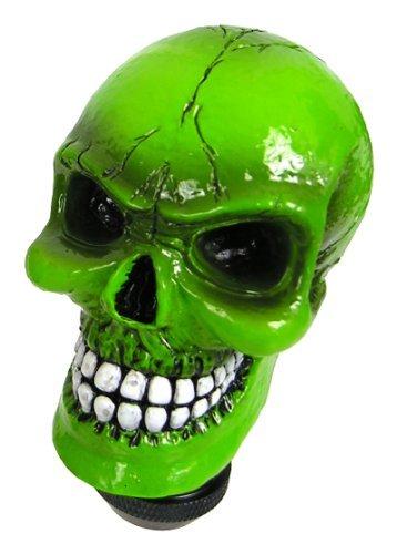 Custom Accessories 23179 Green Skull Gear Shift Knob by Custom Accessories