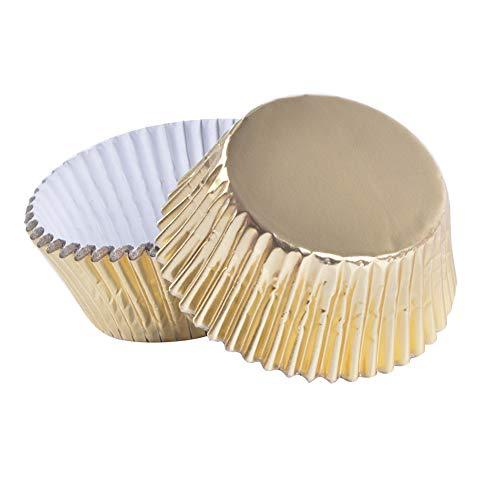 Wrappers Muffin-Backformen Muffin Liner Backpapier Schokolade Papier Süßigkeiten Cups für Party Kuchen Dekorationen Geburtstag Deko 100 Stück ()