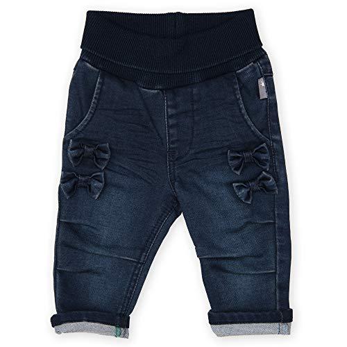 Sigikid Baby-Mädchen Wendehose Jeans, Jeansblau, 62