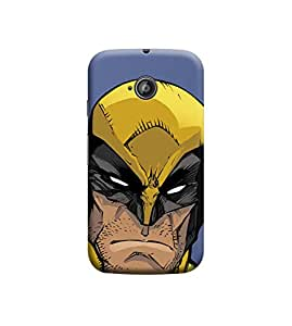 EPICCASE Premium Printed Mobile Back Case Cover With Full protection For Motorola Moto E2 (Designer Case)