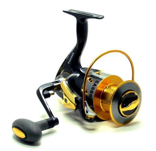 Yoshikawa SA5000 10+1 Ball Bearings Aluminum Spool Saltwater Spinning Reel FR228