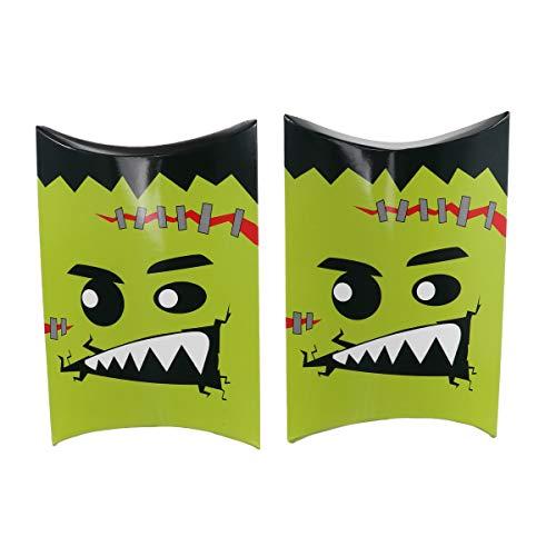 TOYANDONA 10 Stück Halloween Süßes oder Saures Goody Gags Geschenk Papiertüten für Kinder