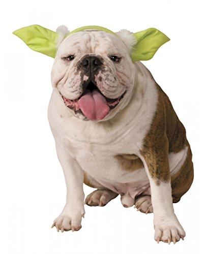 Horror-Shop Star Wars Yoda Ohren als Kostüm Zubehör -
