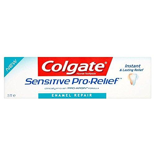 Colgate Pro Sollievo Smalto Riparazione Tubo Di Dentifricio Sensibile (75ml) (Confezione da (Smalto Sensibile)