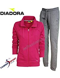 Diadora - Tuta L.FZ Cuff Suit Brushed FL per Donna 27d3975de5f