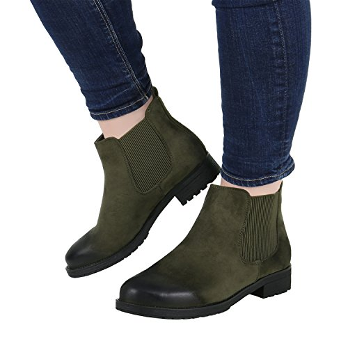 Stiefelparadies - Stivali Chelsea Donna cachi