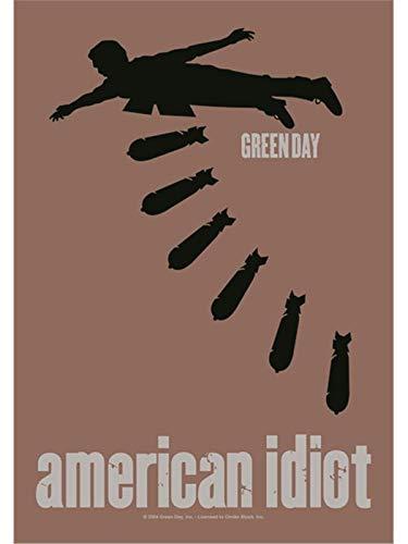 Générique Green Day American Idiot II Poster Drapeau