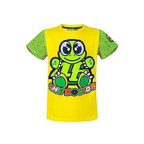 Valentino Rossi VR46 Moto GP The Doctor Cartoon Enfant T-shirt
