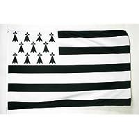 AZ FLAG Drapeau Bretagne 90 x 60 cm Oeillets Haute qualité