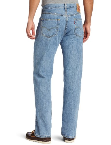 Levi's Herren Jeans 501 Original Straight Fit Blue (Light Stonewash)