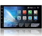 Tristan Auron BT2D7018A Autoradio mit Navi, 7'' Touchscreen Bildschirm, Android 9.0 GPS Navi, Bluetooth Freisprecheinrichtung, Quad Core, MirrorLink, USB/SD, OBD 2, DAB+, 2 DIN
