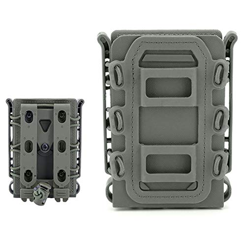 016f2716e4e ARSUTE Rifle Soft Shell Scorpion mag Carrier with Molle Mount Attachment  Case(Green)