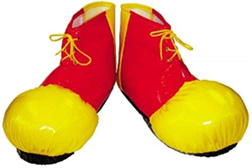 Unisex Erwachsene neueste Funny Comedy-Kostüm Clown Weste Hüte, Schuhe & (Fancy Kostüme 60s Dress)