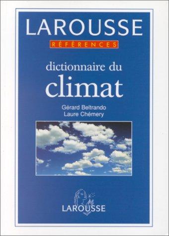 Dictionnaire du climat