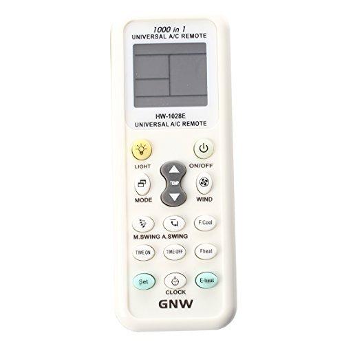 Aire acondicionado de control remoto - SODIAL(R)Mando a distancia-Pantalla LCD universal A...