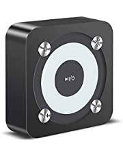 Xmate Theatre Bluetooth Speaker, Portable 5.0 Bluetooth Wireless Speaker, 10M Connectivity Range, 4 Hours Music Playtime, 850mAh Battery, Compact Design, Inbuilt Mic, TF Card & Aux Support (Black)