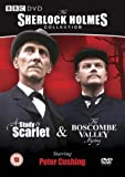 Sherlock Holmes - A Study In Scarlet / Boscombe Valley [DVD] [1965]