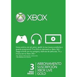 Xbox Live – Gold Card 3 Mesi