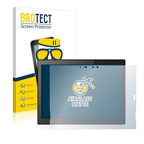 BROTECT Panzerglas Schutzfolie Matt kompatibel mit Lenovo ThinkPad X1 Tablet (3.Gen) - Flexibles Airglass, 9H Härte