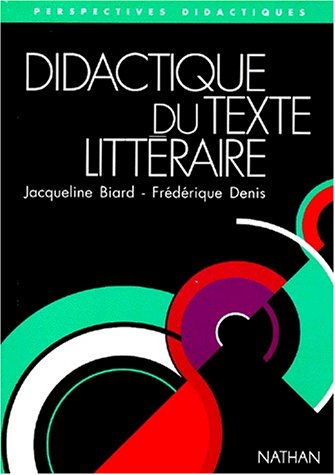 Didactique du texte littéraire : la séquence d'apprentissage