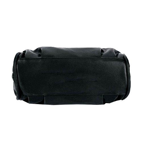 Yy.f Nuovo Pacchetto Diagonale Spalla Portatile Calda Borse Borse Moda Donna Impermeabile Sacchetto Di Spalla Borsa Colore 3 Donne Black