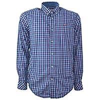 Napapijri Camisa Galveston Azul