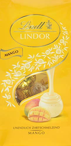 Lindor Beutel Mango, 1 Pack (1 x 137 g)