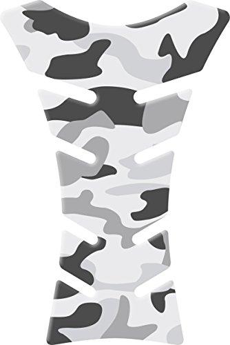 Tankpad Camouflage - Tankschutz für Motorräder | Schützt den Tank vor Kratzern und Scheuerstellen | Haftsicher mit 3M Glue | 14 x 21 cm | Passend für alle gängigen Motorradtanks - Motifpad