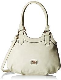 Gussaci Italy Women's Handbag (Beige) (GUS041)