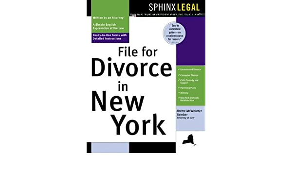 Buy File For Divorce In New York Sphinx Legal Book Online At Low Prices India
