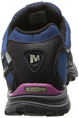 Merrell Verterra Waterproof Women's Chaussure De Marche Blue Moon/Rose