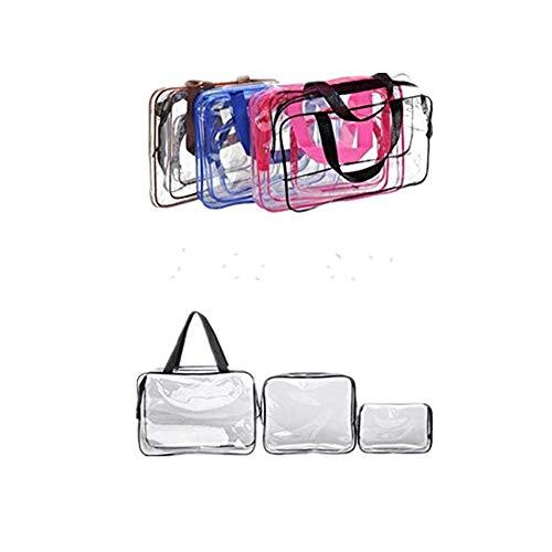Dtuta MäNner Und Frauen VerfüGbar Tragbar Wasserdichte Kosmetiktasche FüR Reisen Transparent Durchsichtig