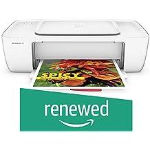 (Renewed) HP DeskJet 1112 Single Function Inkjet Colour Printer