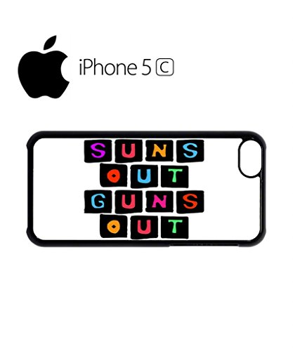 Suns Out Guns Out Gym Summer Muscle Funny Hipster Swag Mobile Phone Case Back Cover Hülle Weiß Schwarz for iPhone 5c White Schwarz