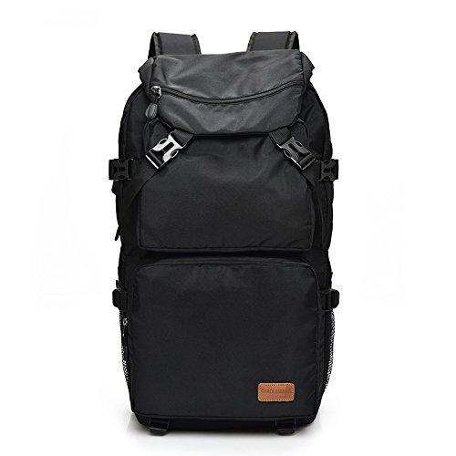 Dlflyb Der Rucksack Reisen Männer Freizeit Große Kapazität Rucksack Notebooktasche black