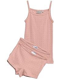 Wheat Underwear Sets, Conjunto de Ropa Interior para Niñas