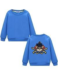 Black Temptation Niños camiseta de manga larga para los niños o niñas casual de cuello redondo